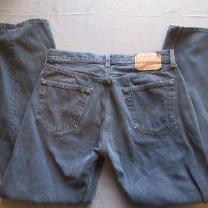 Mens Vtg Levis 501 Jeans Sz 34x32